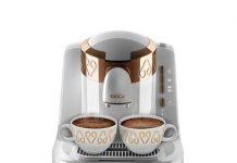 """İdeal lezzette, köpüklü Türk Kahvesi pişirmeyi sağlayan """"Lift to Brew"""" teknolojisi. Arzum Okka ile kahvenin köpüğü tüm fincanlara eşit olarak dağılır."""