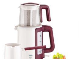 Fakir Harvest Collection Çay ve Türk Kahve Makinesi Seti Krem. İkisi bir arada kullanım: 2 litre kapasiteli su ısıtıcısı ve 1 litre kapasiteli demlik (çay süzgeci dahil)