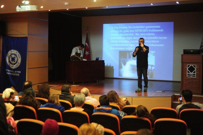 Moleküler Moleküler gastronomi konferansı. düzenlendi.